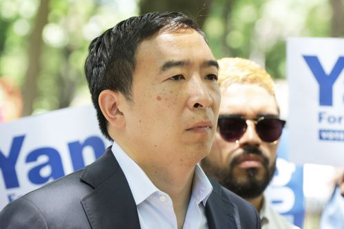 Rivals slam Andrew Yang for controversial remarks about the mentally ill