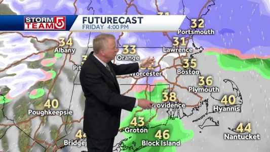 Video: Some snow, followed by cold air for part of weekend