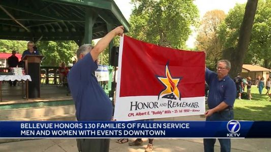 Bellevue honors families of fallen