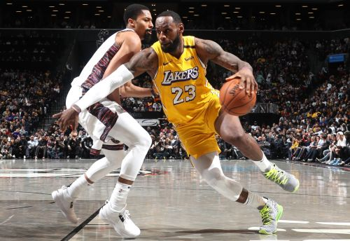 Nets prove they are no match for LeBron James and Lakers