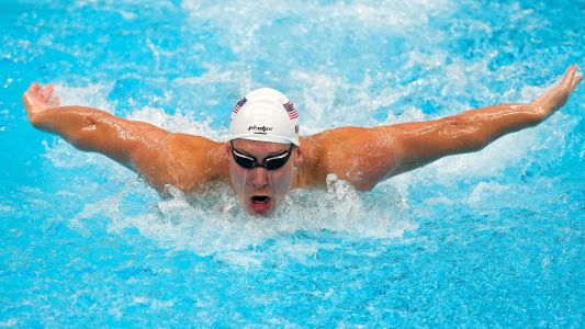 Family in Baltimore County cheer on Team USA swimmer Chase Kalisz