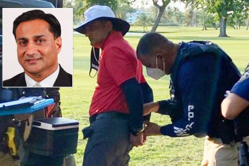 Businessman allegedly shot and killed dog on golf course