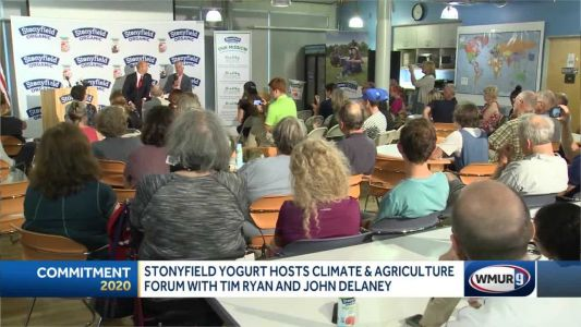 Stonyfield hosts climate, agriculture event with Ryan, Delaney