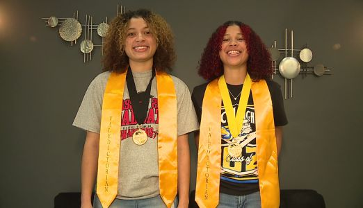 'Push yourself. Never give up': Sisters both named valedictorian of their classes