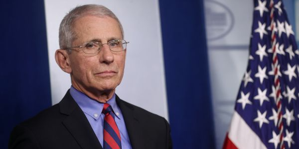 Health officials have reportedly increased security for White House coronavirus expert Dr. Fauci after he faces threats