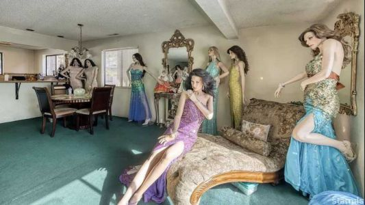 The people who live at Tahoe's viral mannequin house
