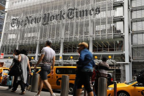 New York Times demotes editor after 'serious lapses' on social media