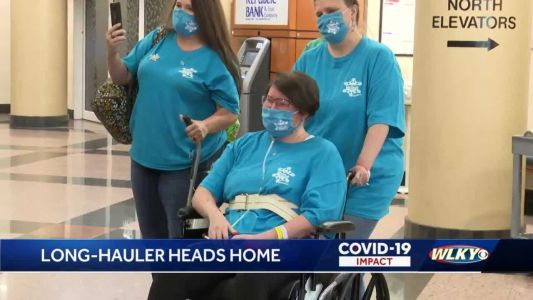 30-year-old Kentucky woman finally home after 6-month battle with COVID-19